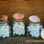 Wedding Penny: Attached to favor Jars